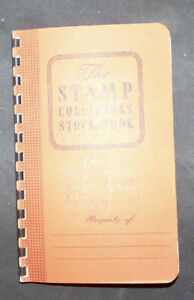 Collection of State Revenue Stamps In A Small Stock-Book