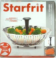 Vegetable Steamer basket, STARFRIT 094296-006-0000 Stainless Steel