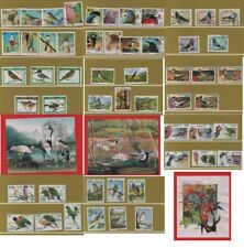 Thematic stamps Birds Northern Caribbean 9 sets & 3 miniature sheet - used CTO