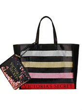 New Victoria's Secret Tote Bag Bling Sequin and Mini Bag Black Friday