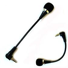 Mini 3.5mm Jack Flexible Audio Microphone Mic For PC Laptop Notebook Skype Yahoo
