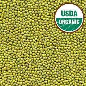 USDA CERTIFIED ORGANIC MUNG BEANS