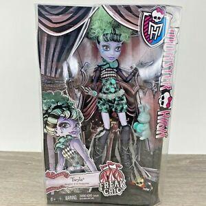 Monster High Freak Du Chic Twyla Circus Ghouls Doll Boogeyman Mattel NEW NIB