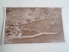 Vintage Real Photo Postcard PENZANCE  Aerofilms Ltd London Franked+Stamped 1953