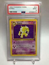 PSA 9 Mint 1999 Pokemon Fossil Set Hypno #23