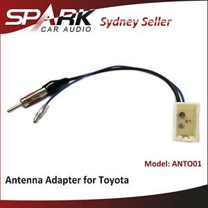 CT Antenna adapter for Toyota RAV4 2013+ to m din antenna accessories ANTO01