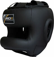 RDX Head Guard Helmet  Face Protector Kick  Boxing MMA Martial Art Gear Training