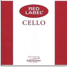 Super-Sensitive Red Label 4/4 Cello C String: Medium