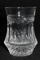 "Galway Crystal KILLARNEY Double Old Fashioned Tumbler Glass  Goblet 4 1/4"" Tall"