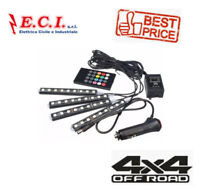 KIT LED RGB PER ILLUMINAZIONE DECORAZIONE INTERNI AUTO CAMPER OFF ROAD