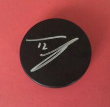 James Van Riermsdyk Signed Autograph Nhl Puck Jsa Sticker