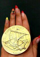 Paris fair (Foire de Paris) VIP Official Award Gold Plated Silver 177gr medal