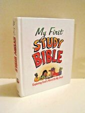 My First Study Bible: Exploring God's Word on My Own by Paul J. Loth