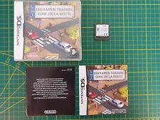 GAMEBOY GAME BOXED BOITE JEU CODE DE LA ROUTE RIJEXAMEN TRAINING 3DS DS DSI 2DS