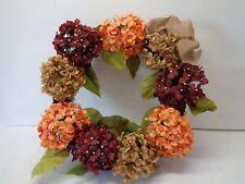 """National Tree Co. 24"""" Mixed Hydrangea Wreath"""