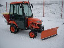 Kubota Traktor BX2350 mit Allrad Kabine Fronthydraulik und Schneeschild