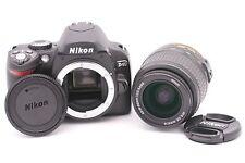 Nikon D D40 6.1MP Digital SLR Camera - Black (Kit w/ AF-S DX 18-55mm II Lens)
