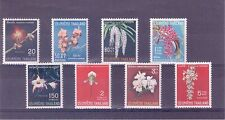 Thailand Scott #s 477-484 Orchids Set of 8 Stamps VF MLH