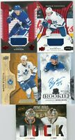 Mitch Marner Frederik Andersen Mats Sundin Ilya Mikheyev The Cup Auto Patch Lot
