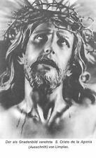 "nice rare german PSALM Holy cards ""h8043""  Gnadenbild Cristo de la Agonia"