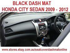 DASH MAT, BLACK DASHMAT, HONDA CITY SEDAN 2009 - 2012, BLACK