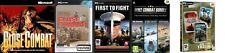close combat + invasion normandy + first to fight & 6 more  strategy war games
