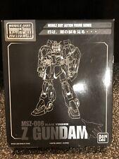 Bandai Z Zeta Black Z Gundam Limited Edition Hong Kong MSIA MS in Action Figure