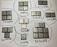 Lot of 29 Mixed CPUs  SL7TM SLB9J SLA9X SLGTL SR1KX SLA8Y SLB9J SR058