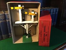 O Gauge Hornby Junction Signal. Boxed