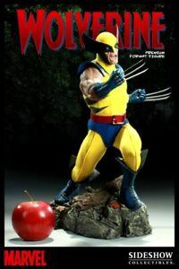 Statue wolverine x men premium format sideshow no bowen xm