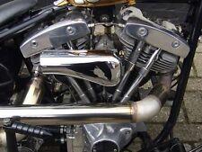 Paughco Filtre à air Tôt Style lisse Chrome,pour Harley Davidson Keihin,Bendix