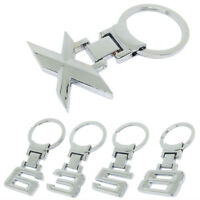 1×For BMW 1 3 5 6 7 8 X Series Alloy Car Logo Key Chain keyring Key Holder Ring`