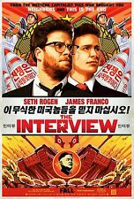The Interview (2014) Movie Poster (24x36) - Seth Rogen, James Franco NEW