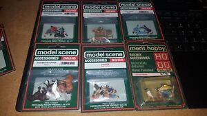 OO/HO Gauge Peco model scene Accessories Figures People Men Women workers