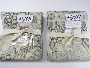 Pottery Barn Janelle Floral Standard Sham Gray Set of 2 #6009