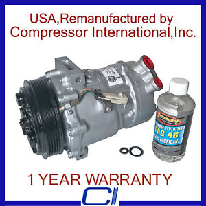 2005-2011 9-3 2.0L,2010-2011 9-3X 2.0L OEM Reman A/C Compressor (W/SD7V16
