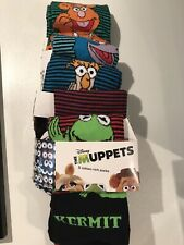 M&S PACK OF 5 NWT MUPPETS SOCKS SIZE 6-8 1/2 UK (RRP £15) £4.99 HERE!