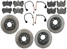 NEW Audi Q7 2007-2014 High Quality Front and Rear Brake KIT Rotors Pads Sensors