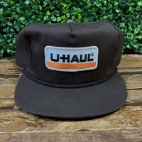 VTG U-Haul Moving Storage Patched Made in USA Snapback Baseball Cap Hat