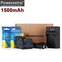 DMW-BLC12 battery + Charger for Panasonic Lumix DMC-G5 DMC-G6 DMC-GH2 DMC-FZ1000