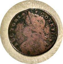 1787 Connecticut Cent ~ Miller 32.5aa ~ Fnde Et Lib Variety ~ R-4 ~ Full Date
