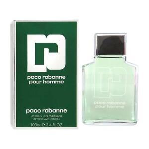 Paco Rabanne Pour Homme Men Aftershave Lotion 100ml