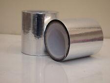 Deux Rouleaux De Feuille D'aluminium Isolation Jointoiement Bande 20m x 100mm