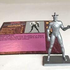 Uncanny X-Men Alert Adventure Board Game HAVOK Game Figure w Card Marvel 1992