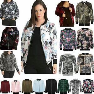 Bomber Jacket Women Lightweight Jacket Women  Plus Size Womens Zip Up Jacket