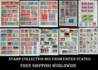 Stamp Collection Mix From United States Airmail Ext. Free Shipping Worldwide