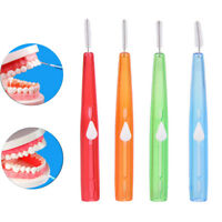 10X Push-pull Interdental Brush Orthodontic Dental Cleaning Brushes Toothpick tt