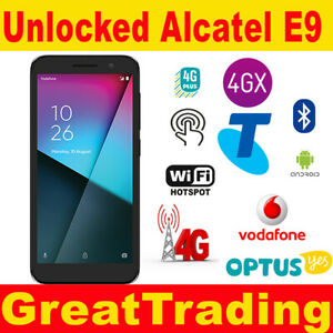 "Alcatel Vodafone Smart E9 4G 5.0""  - Unlocked to all networks"
