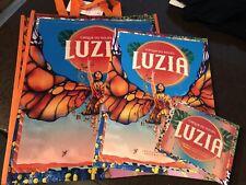 Luzia Cirque Du Soleil Program Cd And Bag