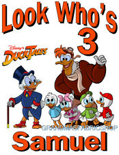 Duck Tales New Custom Personalized Birthday Party Favor T Shirt Add Name & Size